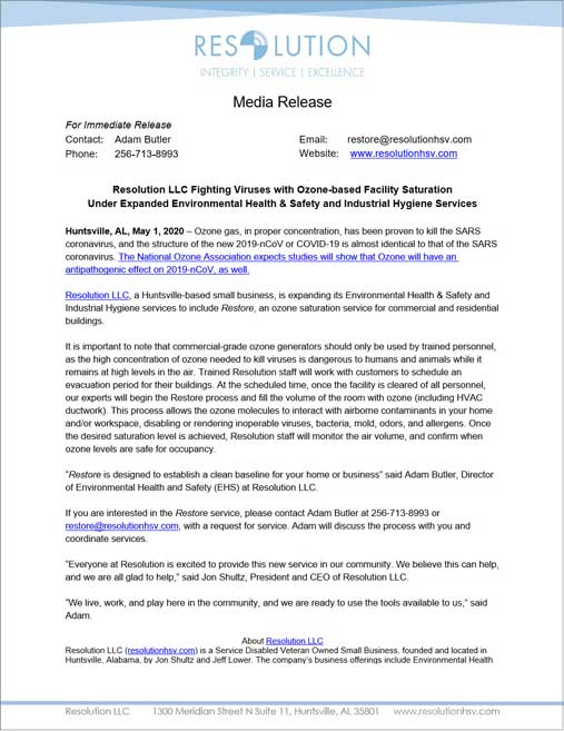 Resolution-LLC-Fighting-Viruses-with-Ozone-based-Facility-Saturation